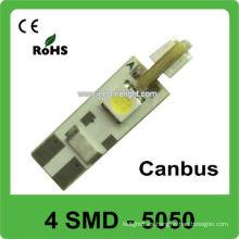 Highquality 5050 SMD canbus llevó la iluminación del vehículo