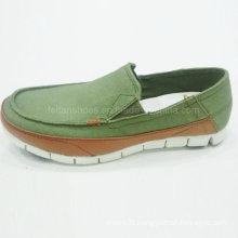 Best Sale Fashion Men′s Shoes Slip-on Driving Shoes Canvas Shoes