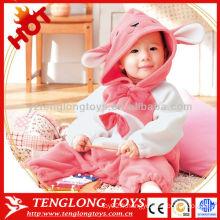 Vente en gros 2015 nouveau design mignon adorable hiver animal bébé doux mamelon
