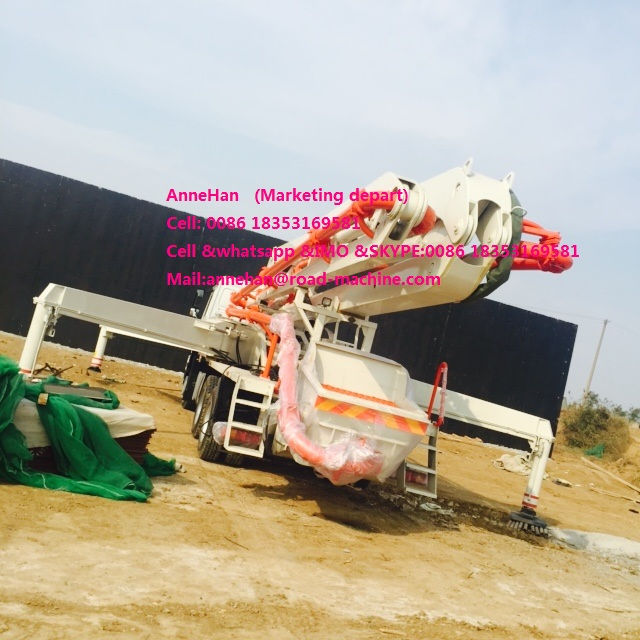 Truck Mounted Howo Concrete Pump Truck (5)