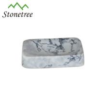 Hot-selling Hand Made Stone White Marble Soapbox