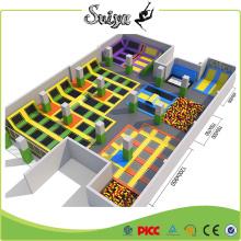 Beliebte riesige Indoor Trampolin Park, Vergnügungspark