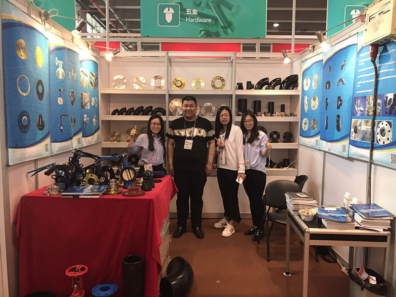 yongxing flange pipe fitting exhibition