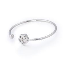 La mejor tienda en línea de brazalete de regalo de cumpleaños Chica Fancy pulsera de acero inoxidable de joyería