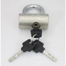 Nickel Plated Hammer Padlock with Vane Keys (HP)