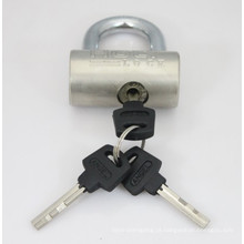 Cadeado de martelo banhado a níquel com chaves de palhetas (HP)