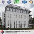 고층 조립식 경량 철 구조물 호텔 / 상업용 건물