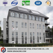 High-Rise Prefab Light Steel Structural Hotel/Commercial Building