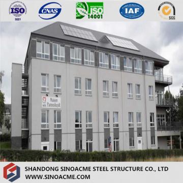 Edificio de acero estructural de alta resistencia de acero inoxidable