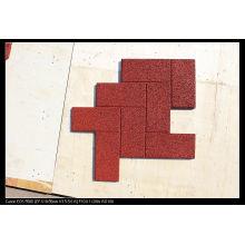 Outdoor Safe Interlocking Playground Rubber Floor Tiles for Kindergarten