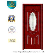 Porte de sécurité Simplestyle avec verre pour entrée (s-1013)