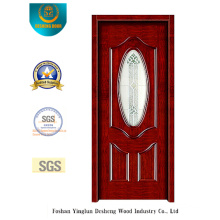 Simplestyle Security Door with Glass for Entrance (s-1013)