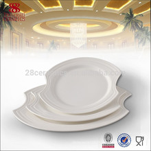 Wholesale porcelaine fine vaisselle en porcelaine, plats et assiettes en porcelaine royale