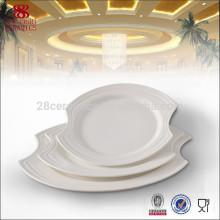 Оптовая костяного фарфора посуда, королевского фарфора блюда и тарелки