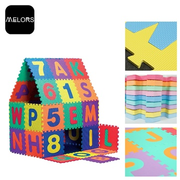 Melors EVA Alphabet & Number puzzle mat for kids playing