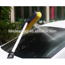 water fed car wash brush with extension pole