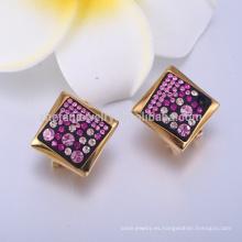 Pendiente de oro de joyería de margen alto de San Valentín