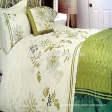 100% cotton embroidered duvet cover for home use