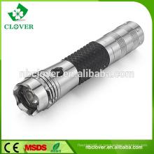 Lanterna de alumínio mais potente 40 lúmens máximo de alumínio
