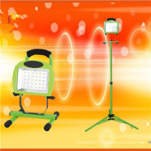 Lampe de travail à DEL rechargeable de 40 W de la série H