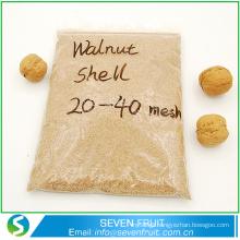 Hot sales polishing walnut shell powder/walnut shell granule