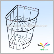 High quality hot sales stainless steel kitchen corner shelf