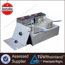 Commercial Restaurant Ovens 2-Tank 2-Basket Electric Deep Automatic Fryer