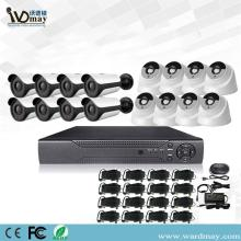 Kit Sistem DVR Surveillance Keamanan 16CH 4.0MP