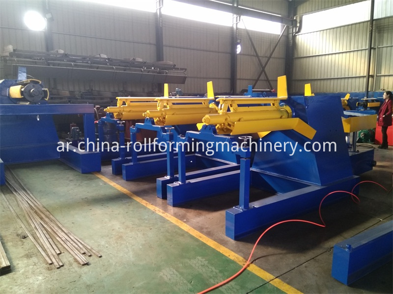 5 Tons Hydraulic Decoiler