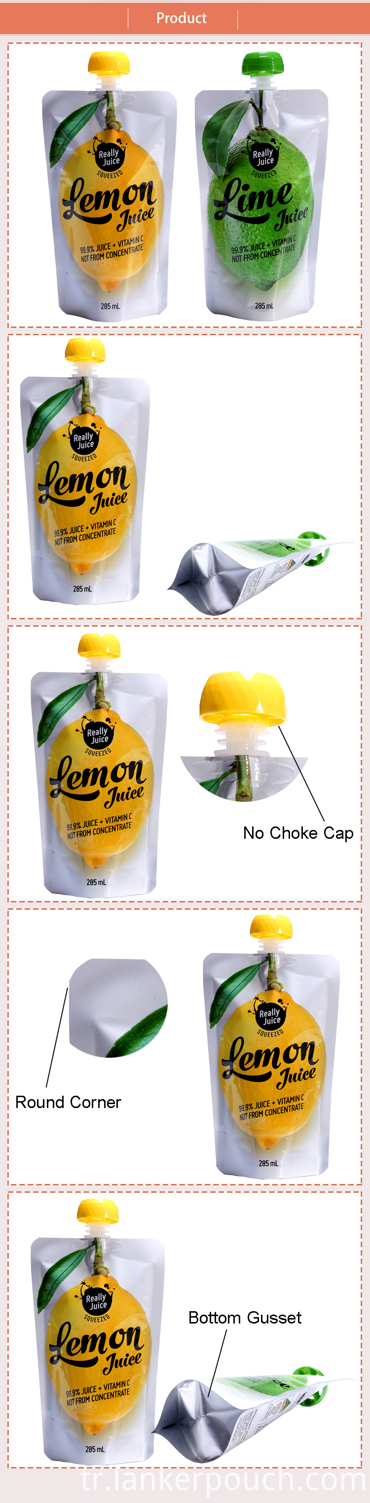 juice packaging bag