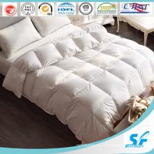 75% белое одеяло на утином пуху с хлопковой тканью