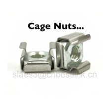 Zinc Electroplate Spring Steel Cage Nut