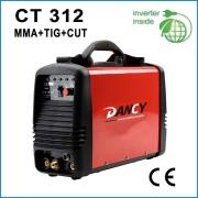 Inverter dc tig mma cut welding machine CT312