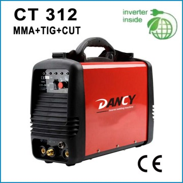 Inverter dc tig mma couper machine à souder CT312