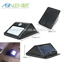 Design de Moda Waterproof LED Sensor de Movimento Solar LED Light