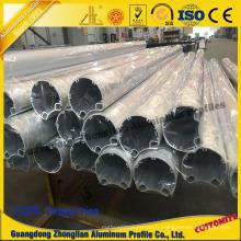 Profil en aluminium de profil de tube pour le profil en aluminium industriel de réverbère