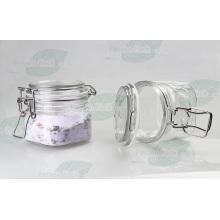 Limpar o frasco do Kilner do animal de estimação para o creme dos cosméticos (PPC-29)