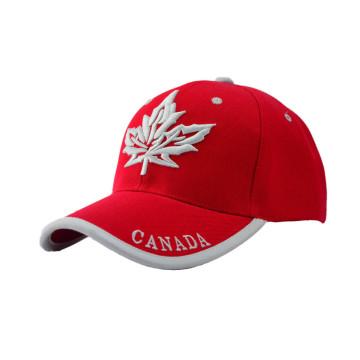 Bonne qualité Casquette de baseball Canada pas cher