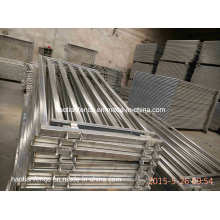 30X60mm Oval Rails Goat Panel
