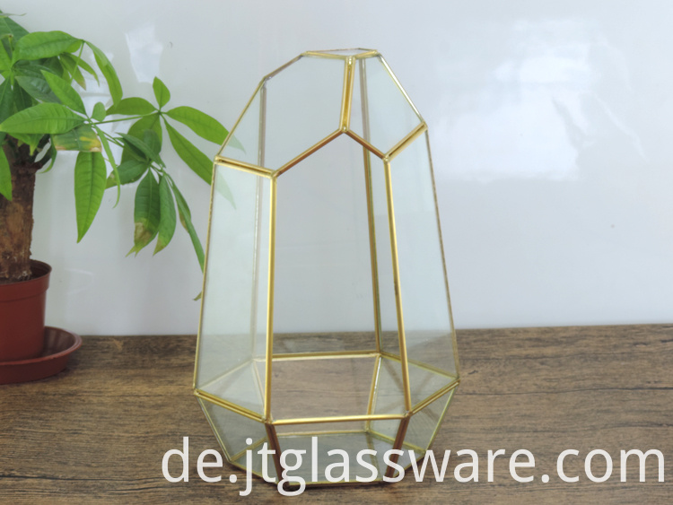Glass Geometric Terrarium