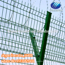 High Security Fencing Military Concertina Razor Barbed Wire Fence Used Airport Fence for Sale