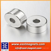 Heißer Verkauf Zink beschichtet starker Ndfeb 30x10x20mm (starker) Permanenter Ringmagnet