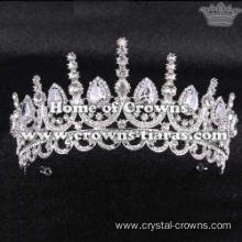 Wholesale Luxury Crystal Elizabeth Queen Crowns