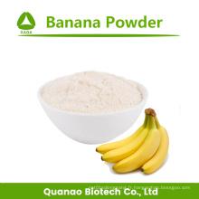 Additif naturel de poudre de banane lyophilisée aux fruits