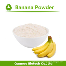 Aditivo alimentario liofilizado en polvo de plátano de fruta natural