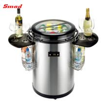 50L Edelstahl Runde Barrel Drink Bier Party Kühler