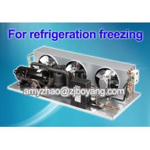 unidad de enfriador de aceite con unidades de condensación de refrigerante refrigerante R404a