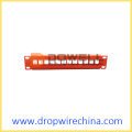 10 inch 12 port patch panel kosong