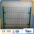 Cerca da rede de arame do pó 4mm do PVC, nylofor 3d do gradil, cerca de dobramento da rede de arame 3D