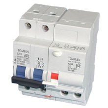 Disjoncteur de fuite à la terre Tgm65n (RCCB)